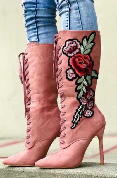 The Flower Bootie