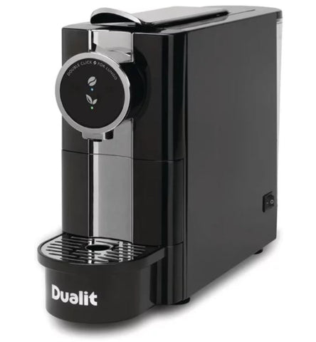 Dualit Cafe Plus Coffee Capsule Machine - with 60 FREE capsules!