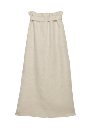 Angela Cotton Paperbag Waist Skirt