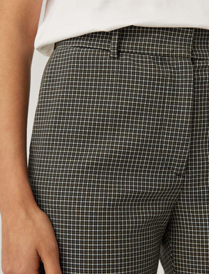 Coleman Stretch Plaid Trousers