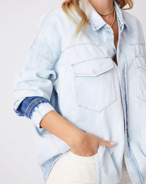Superba Vintage Blue Denim Shirt