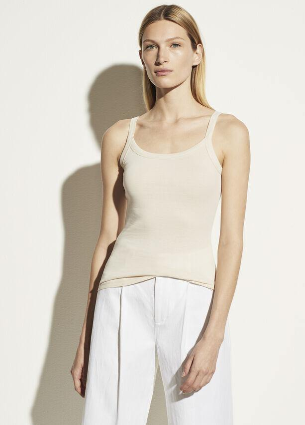 Scoop Neck Camisole in Chiffon