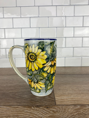 Limited Edition Latte Mug - Shape C52 - Pattern L112 - Mug A