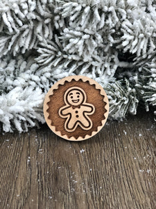 Cookie Stamp - Whole Gingerbread Man