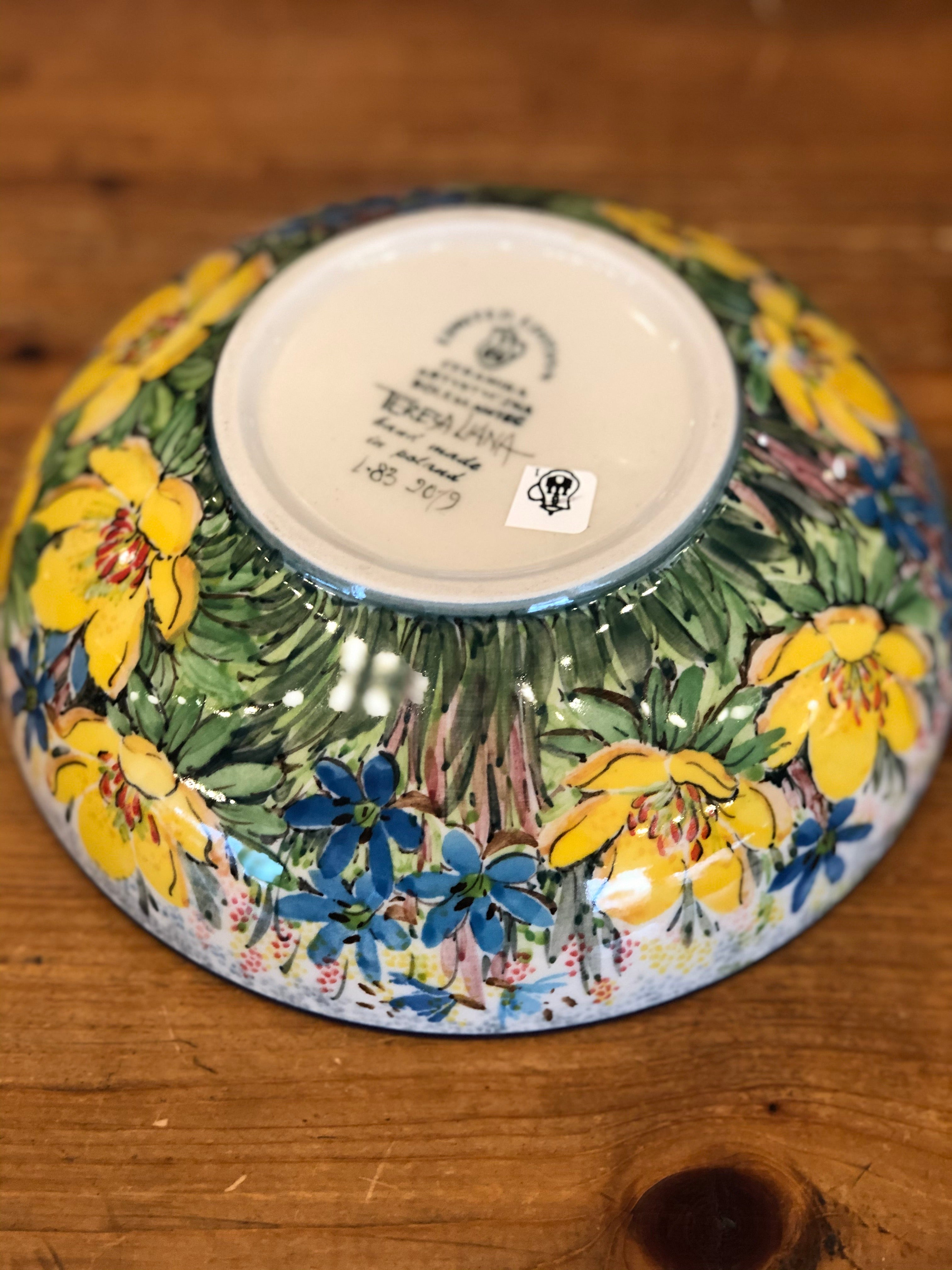 Limited Edition Covered Bowl - Shape C55 - Pattern L83