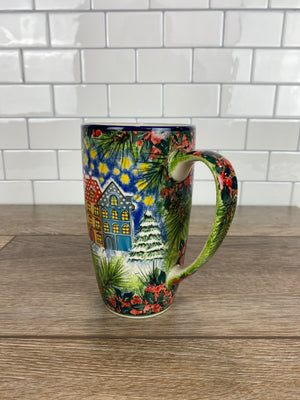Limited Edition Latte Mug - Shape C52 - Pattern L98 - Mug D
