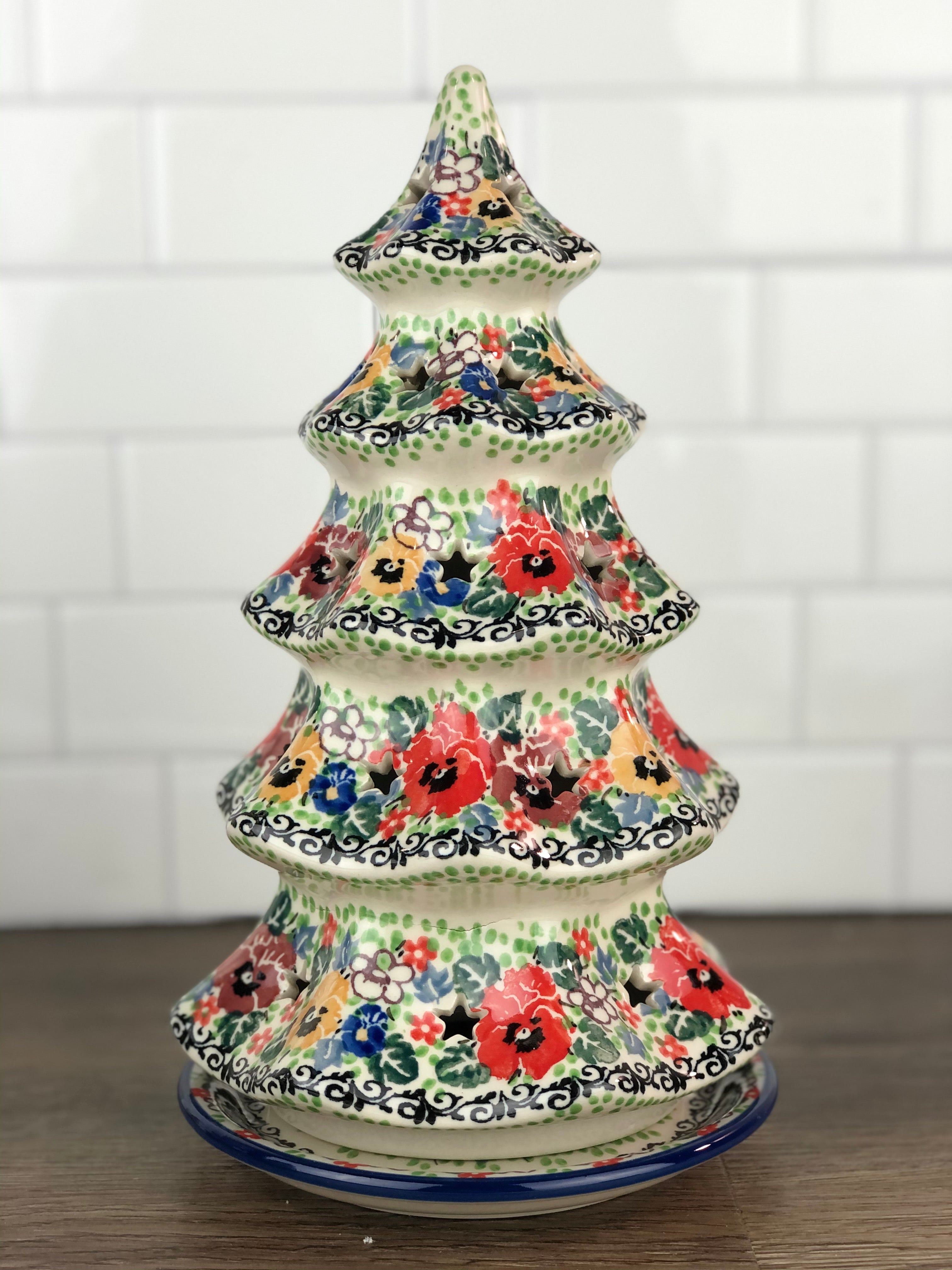 XL Unikat Christmas Tree - Shape C58 - Pattern U3638