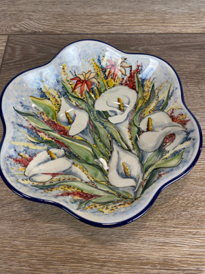 Limited Edition Petal Bowl - Shape 717  - Pattern L113 - Bowl B