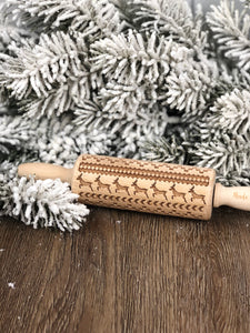Small Wooden Rolling Pin - Nordic Sweater