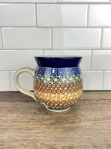 12oz Ladies' Bubble Mug - Shape 70 - Pattern 50