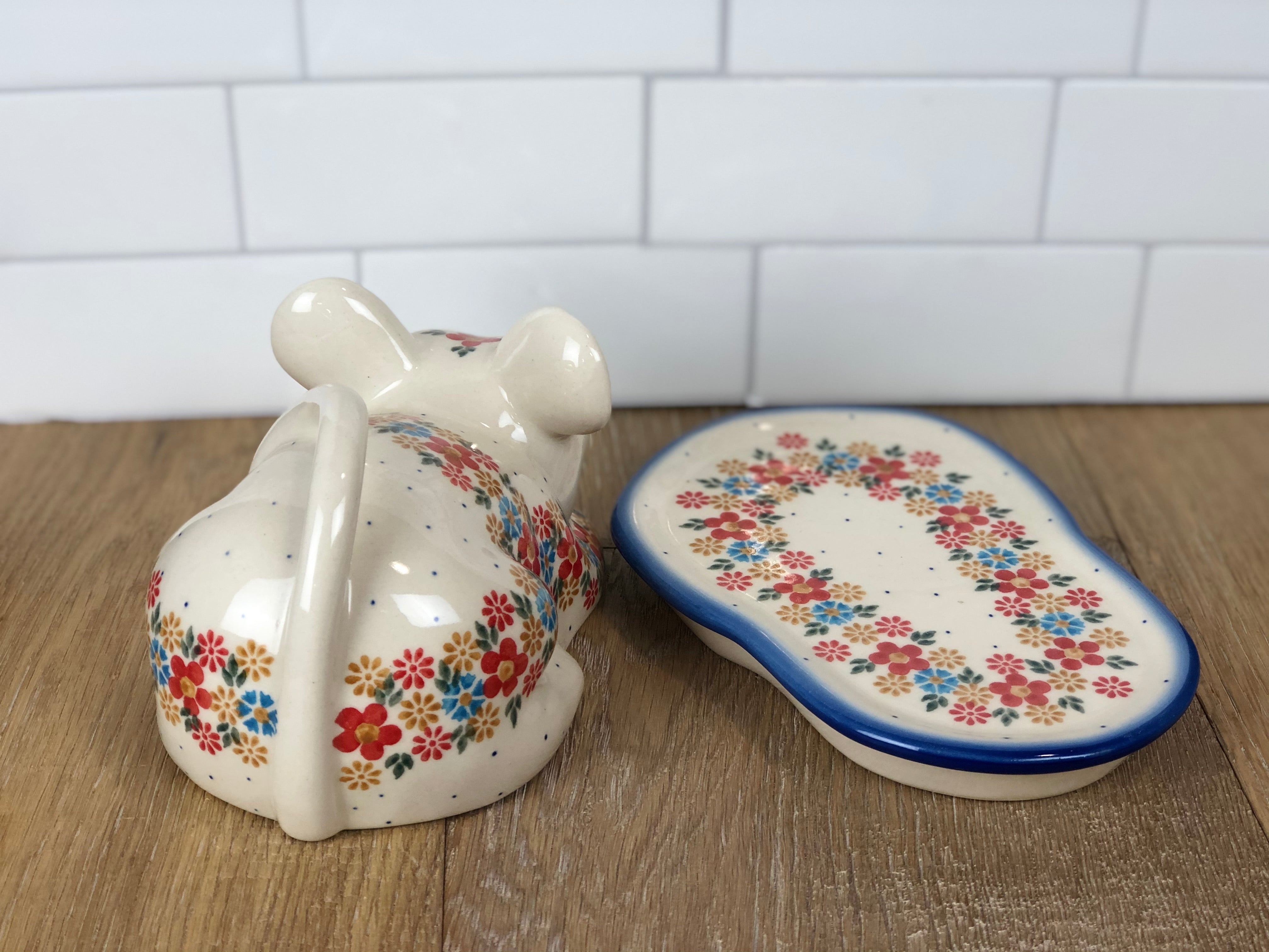 SALE Mouse Covered Dish