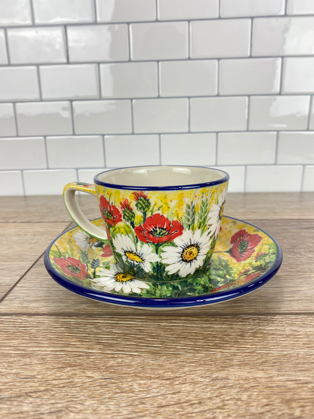 Limited Edition  Cup and Saucer - Shape E53 - Pattern L79 - Set A