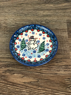 "4"" Coaster - Shape 262 - Pattern U4661"