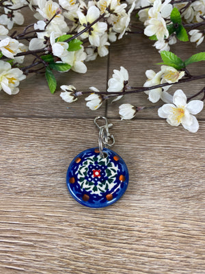 Round Keychain - Dark and Rich