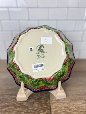 Limited Edition 12-Sided Bowl - Shape 878 - Pattern L98 - Bowl C