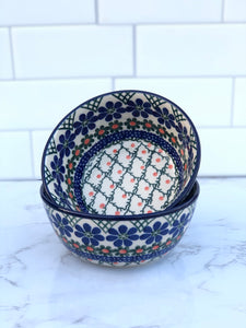 Small Cereal / Dessert Bowl - Shape 17 - Pattern 854A