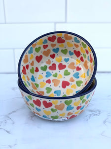 Small Unikat Cereal / Dessert Bowl - Shape 17 - Pattern U4833