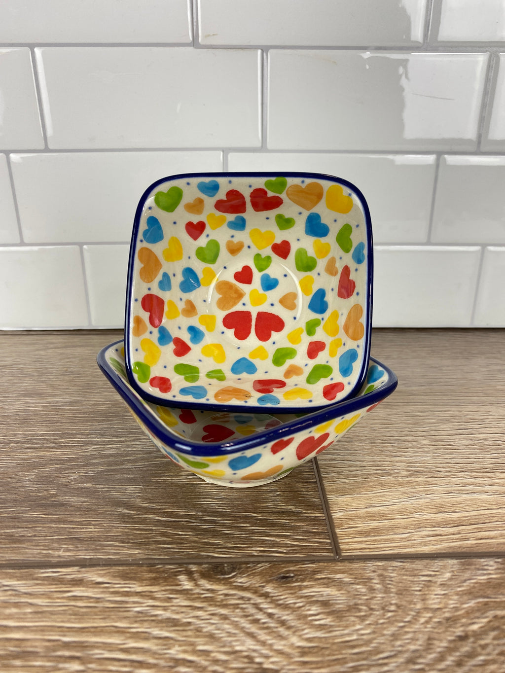 Small Square Unikat Bowl - Shape D11 - Pattern U4833