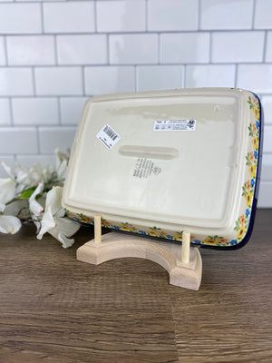 Shallow Rectangular Baker - Shape 403 - Pattern 2225