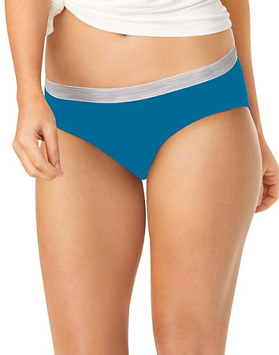 Hanes Sporty Women's Hipster Panties 6-Pack