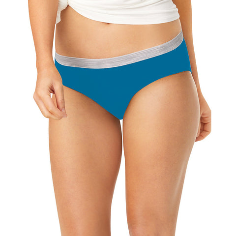 Hanes Sporty Women's Hipster Panties 6-Pack - Shape Your Figure