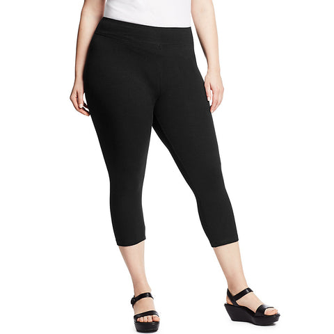 Just My Size Stretch Cotton Women's Capri Leggings - Shape Your Figure