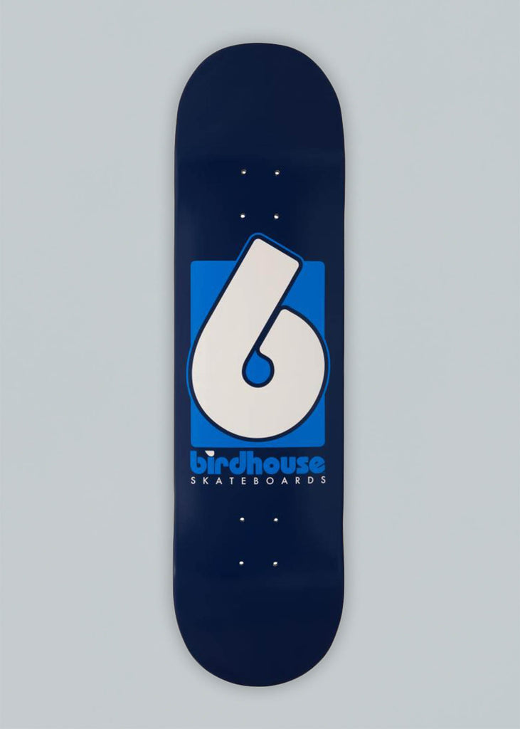 Birdhouse Skateboards Blue B Logo Deck 8.375