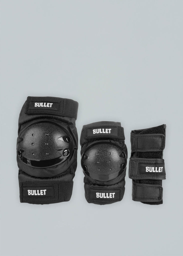 Bullet Triple Padset Schonerset Junior Black