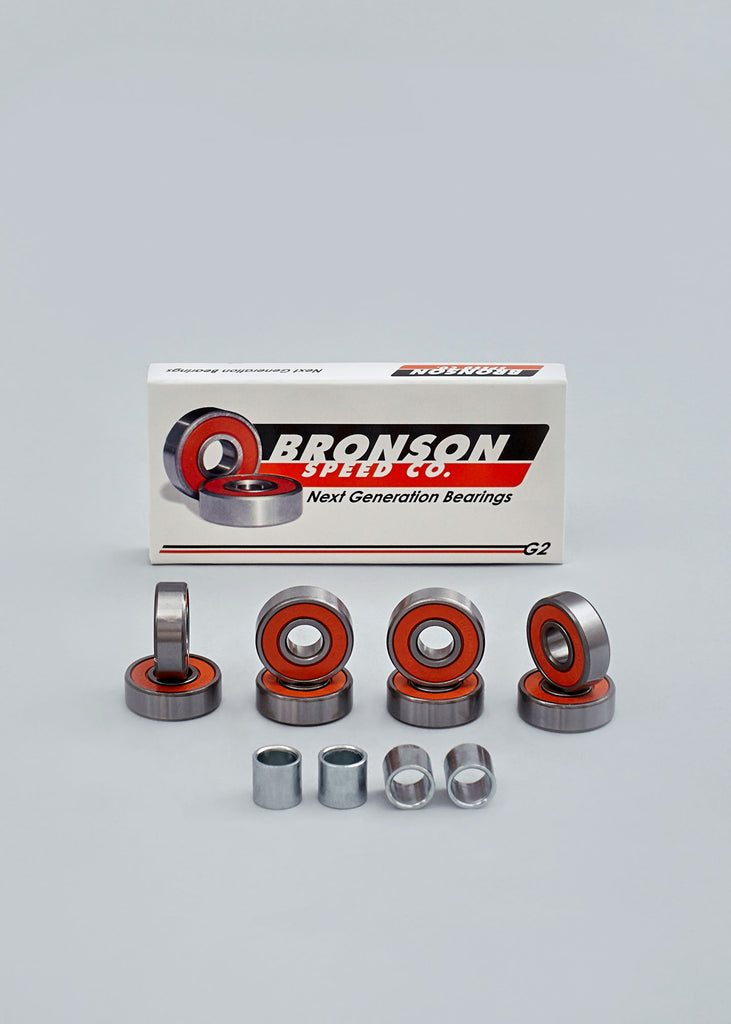 Bronson Speed Co. G2 Bearings - no comply online skateshop
