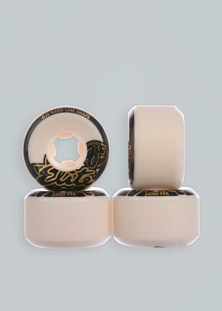 OJ Wheels Elite Hardline Rollen 99A 54 mm