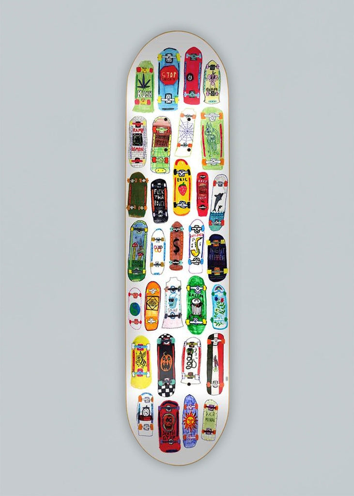 Skate-Mental Skateboards Koston Mini Boards Deck 8.5