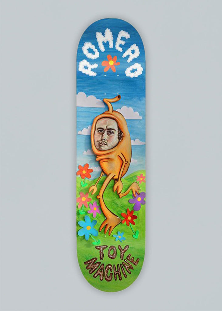 Toy Machine Royrock Leo Romero Deck 8.25