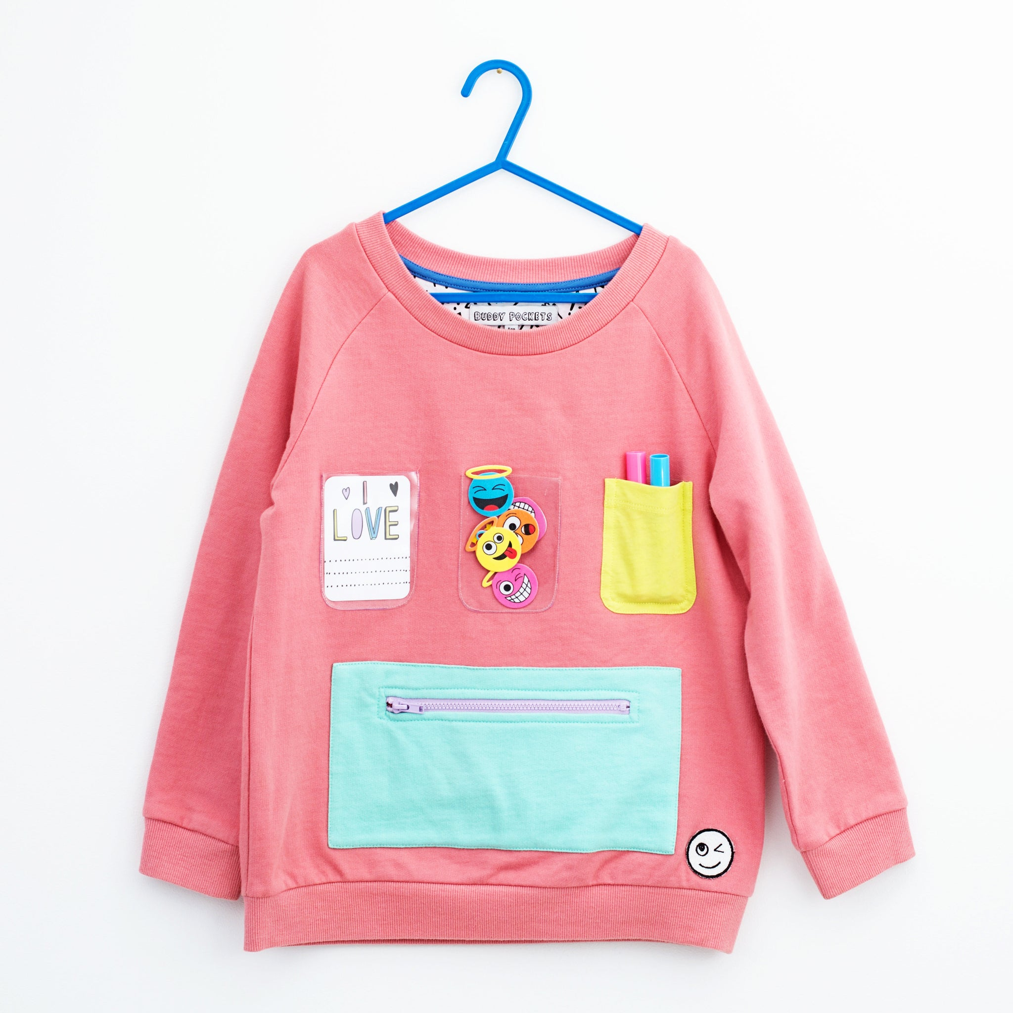 Show and Tell Sweatshirt - Coral