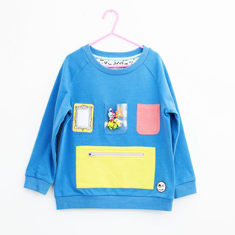 Show and Tell Sweatshirt - Blue