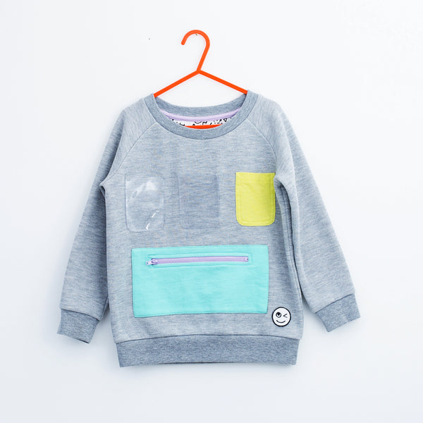 Show and Tell Sweatshirt - Grey
