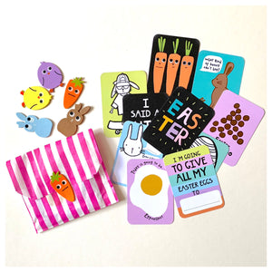 Easter cards and stickers