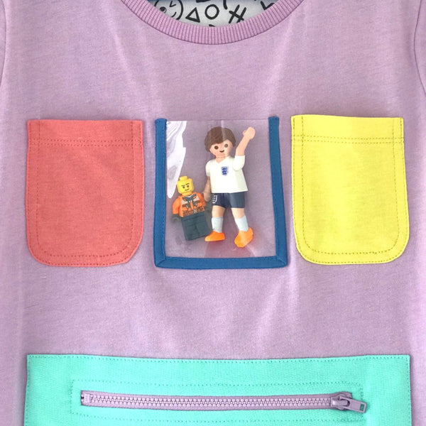Show and Tell T-Shirt - Lilac