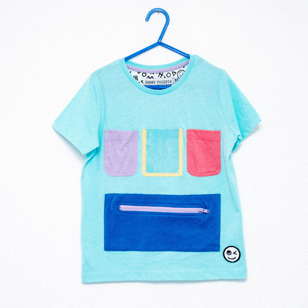 Show and Tell T-Shirt - Turquoise
