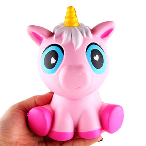 Adorable Unicorn squish toy - slow rising - scented