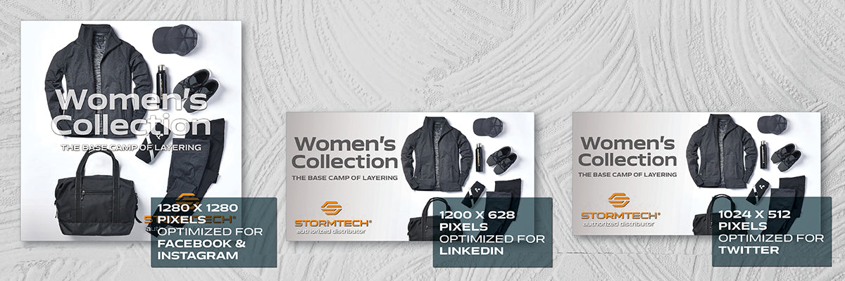 Women's Collection Social Media Assets