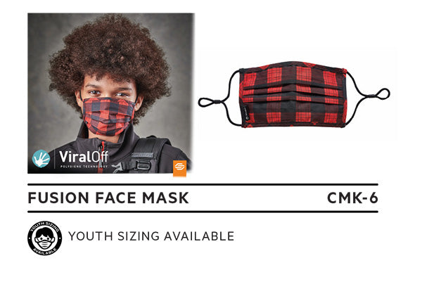 CMK-6 Plaid Mask