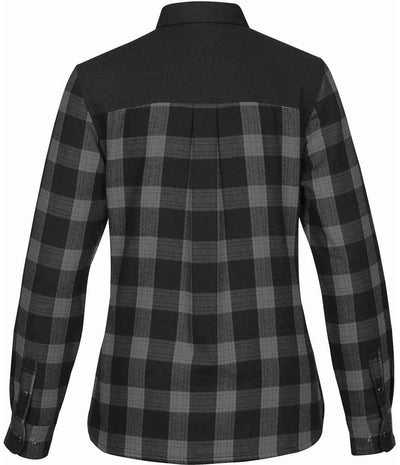 Carbon Plaid - Back