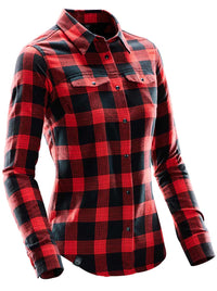 Black/Red Plaid - 3/4