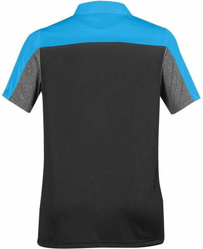 Electric Blue/Carbon Heather - Back