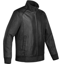 Clearance Men's Hudson Leather/Wool Jacket - WCJ-2