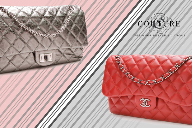 9f7689e36c532 The Chanel Reissue Bag vs. The Classic Flap  All You Need to Know ...