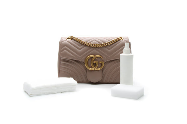 Cleaning Supplies with Gucci Marmont
