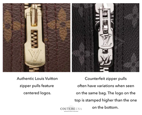 Louis Vuitton Zipper Pulls