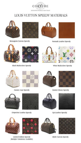 a1341f0654a4 The Ultimate Guide to the Louis Vuitton Speedy – Couture USA
