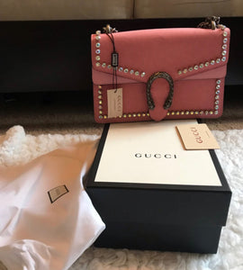 Gucci Crystal Dionysus bag